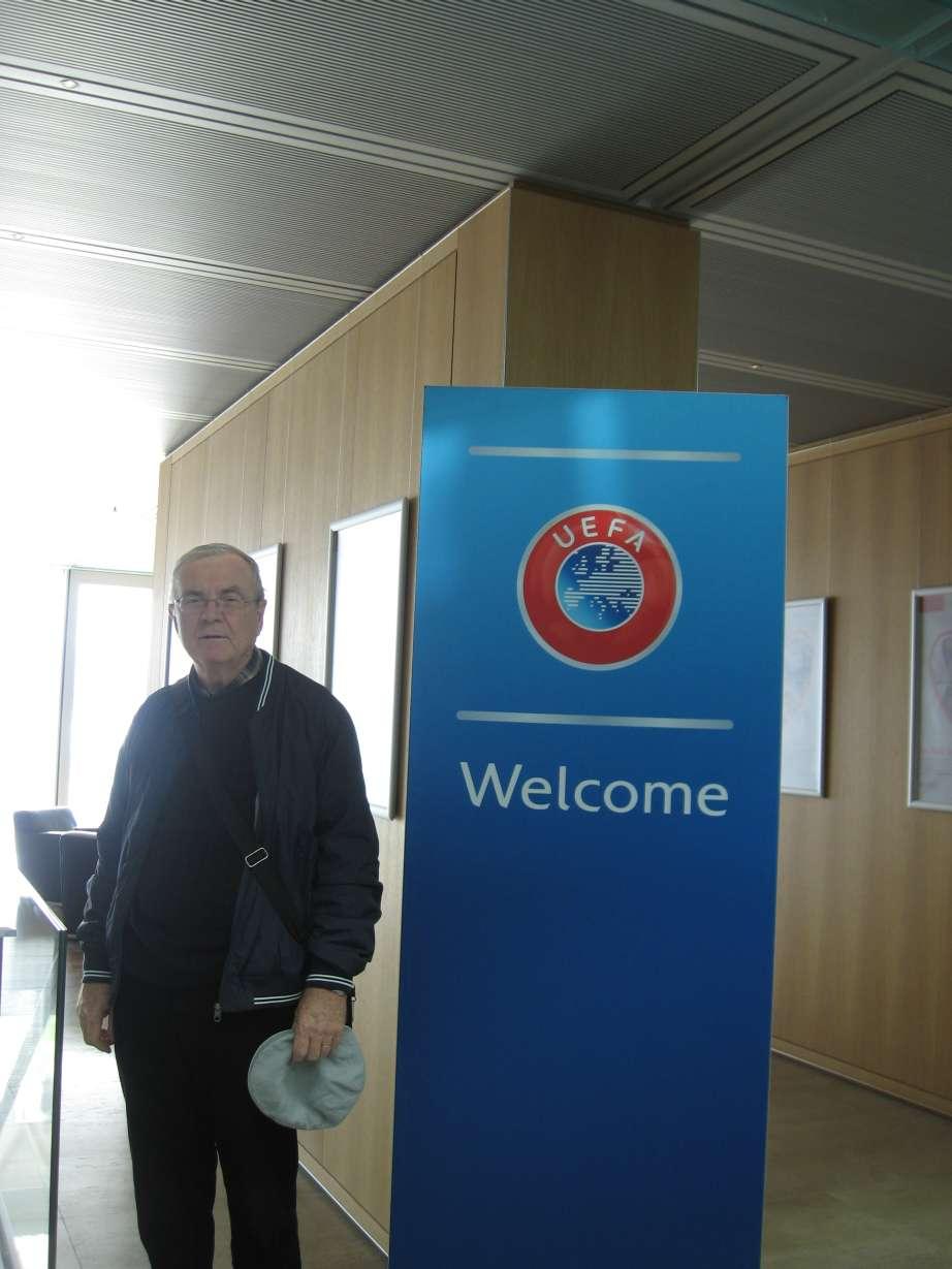 İSVİÇRE GÜNLERİ / UEFA BİNASINI ZİYARET