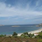 Foça sahillerinin eşsiz güzelliklerinden bir enstantene