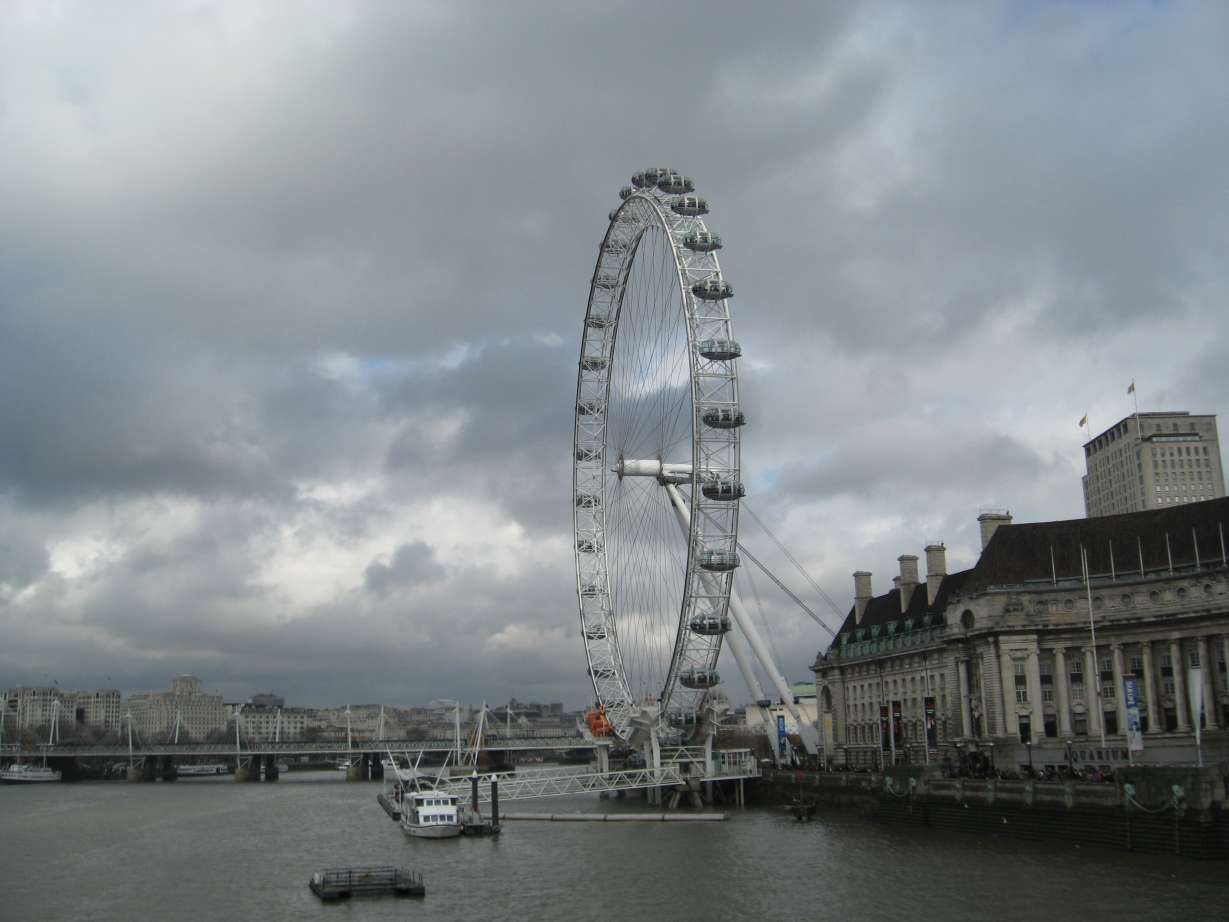 LONDRA GÜNLERİ / LONDON EYE